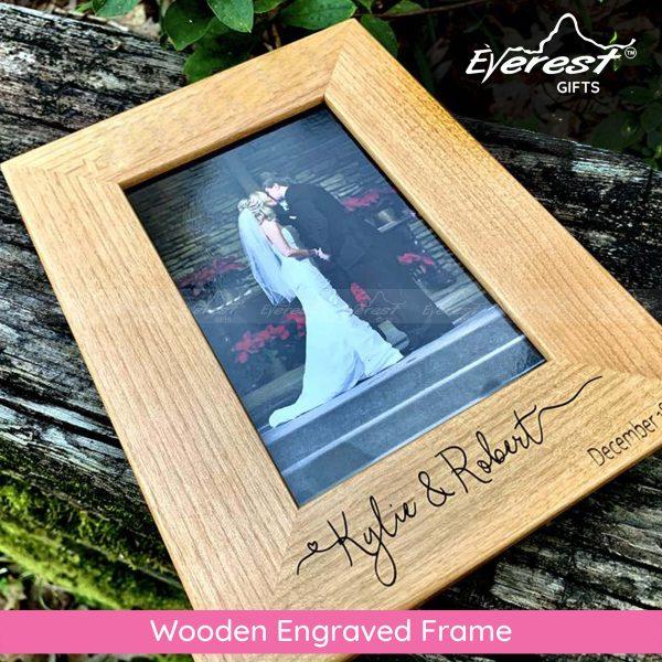 Wooden Engraved Frame